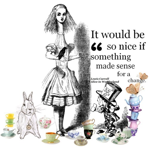 an analysis of imagery in alice in wonderland by lewis carroll Lewis carroll 1832-1898 (born charles lutwidge dodgson) english novelist, poet, satirist, and mathematician see also lewis carroll poetry criticism and alice's adventures in wonderland, through .